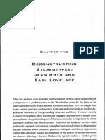 DECDNSTRUCTING steretypes