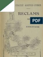 Reclams de Biarn e Gascounhe. - Mars 1940 - N°6 (44e Anade)