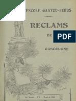 Reclams de Biarn e Gascounhe. - Heurè 1940 - N°5 (44e Anade)