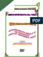 PCIE - CEI N° 282 - Shancayán - 2007