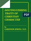 Gardiner Spring - Traits
