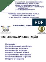 Iiprojetos IV Planejamentodoprojeto 110328173646 Phpapp01