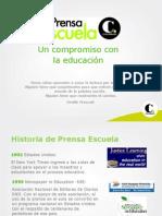 Presentación programa Prensa Escuela