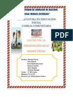 Proyecto Socio Comunitario Kinder Chiripujio