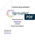 Sgrouples Press Kit - June 2013