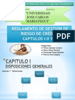 REGLAMENTO DE GESTION DE RIESGO DE CRÉDITO original
