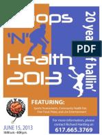 Hoops 'N' Health 2013