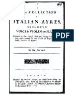 IMSLP278957-PMLP452891-A Choice Collection of Italian Ayres