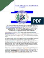 Kämpfer der Hamas in Al-Kusair unter den- Rebellen entdeckt