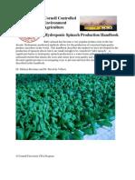 Cornell CEA Baby Spinach Handbook