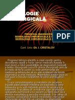 Chirurgie - SEMIOLOGIE CHIRURGICALA