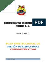 Imforme Del Plan de Riesgos Del Aext,27 de Mayo