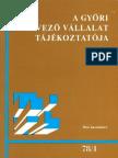A Győri Tervező Vállalat Tájékoztatója, 1978/1