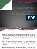 Structura internă a oraşelor