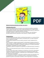PROYECTO DE MATEMÁTICAS PARA SALA DE 5