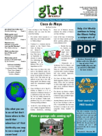 Gist Weekly Issue 22 - Cinco de Mayo