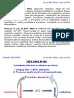Clase Integracion Metabolica I