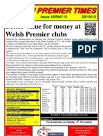 Welsh Premier Times Issue 15