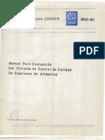 Covenin 1800-80 (Supervision de Calidad)