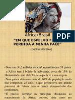 África físico, humano e cor. Brasil