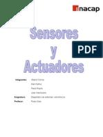 Informe Sensores y Actuadores Parte 1