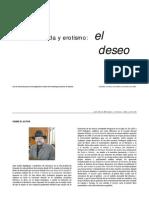 Literatura Moda y Erotismo El Deseo 2003