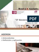 IT Governance - Rendón & Asociados
