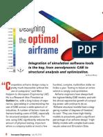 Designing Optimal Airframe