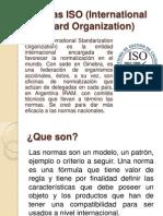 Normas ISO (International Standard Organization)