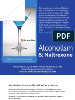 Alcoholism and Naltrexone - Addiction Treatment in Europe