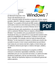 Historia Windows Xp, 7, y Linux Suse