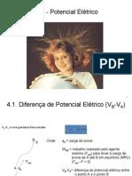 Cap. IV - O Potencial Elétrico