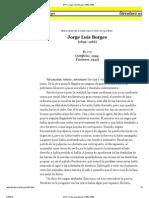 El Fin, Jorge Luis Borges