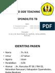 Bed Side Teaching Spondilitis Tb