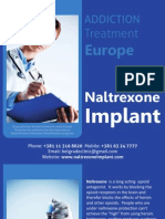 Naltrexone Implant Treatment and Side Effects