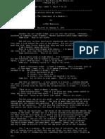 A Hacker's Manifesto