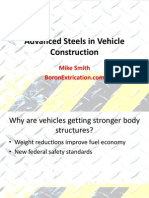 Advanced Steels in Vehicle Construction Boron Extrication Smitty