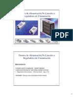 Fuentes de Alimentación No Lineales o Reguladores de Conmutacion.pdf