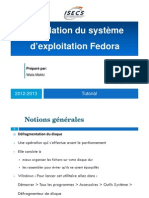 Installation Fedora