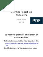 Evaluating Shoulder Injuries