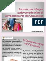 Factores Que Influyen Sobre El Comportamiento Del Consumidor - Virginia Davis