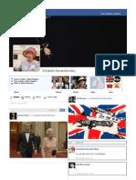 Elizabeth II Facebook