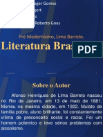 Trabalho Português - Lima Barreto