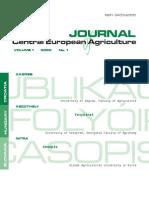 Journal CEA 2000 No.1 (Feromoni Pcela + Mali Obiteljski Ribnjaci)