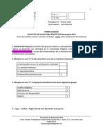 Formulario Fondo Canadá