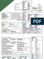 Mysql Reference Sheet