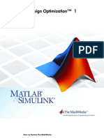 Simulink Design Optimization - User's Guide