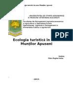 Ecologia Turistica in Zona Muntilor Apuseni