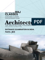 Architecture Nata Jee Top Colleges Entrance Exam India