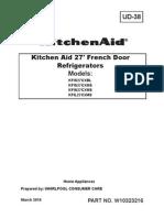Kfil27cxms3 Ud38 Refrigerator Sm